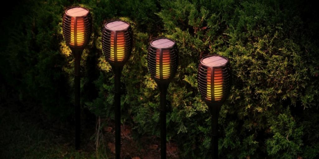 Best Solar Tiki Torch Lights